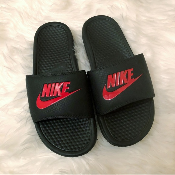 a0194249c Black and Red Nike Slides-8. M 5b7b742925457af5b737a1f1